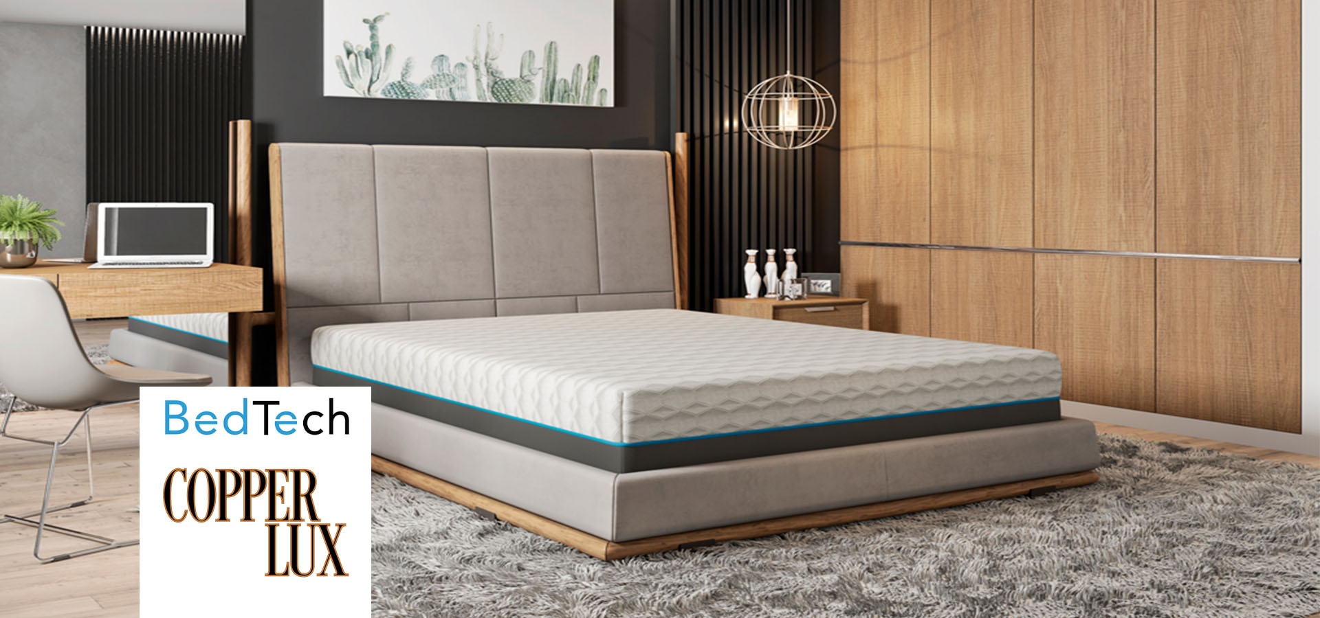Bed Tech Copper Lux Mattress Rx For